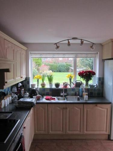 Existing kitchen view